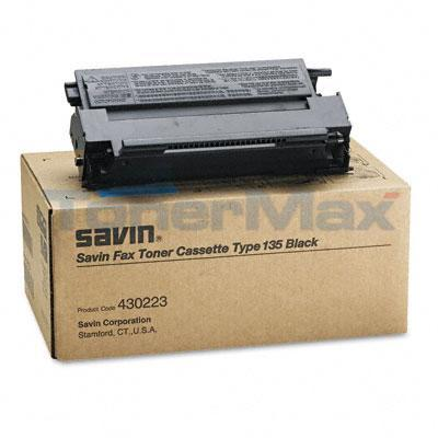 SAVIN 3651 TYPE 135 TONER CASSETTE BLACK